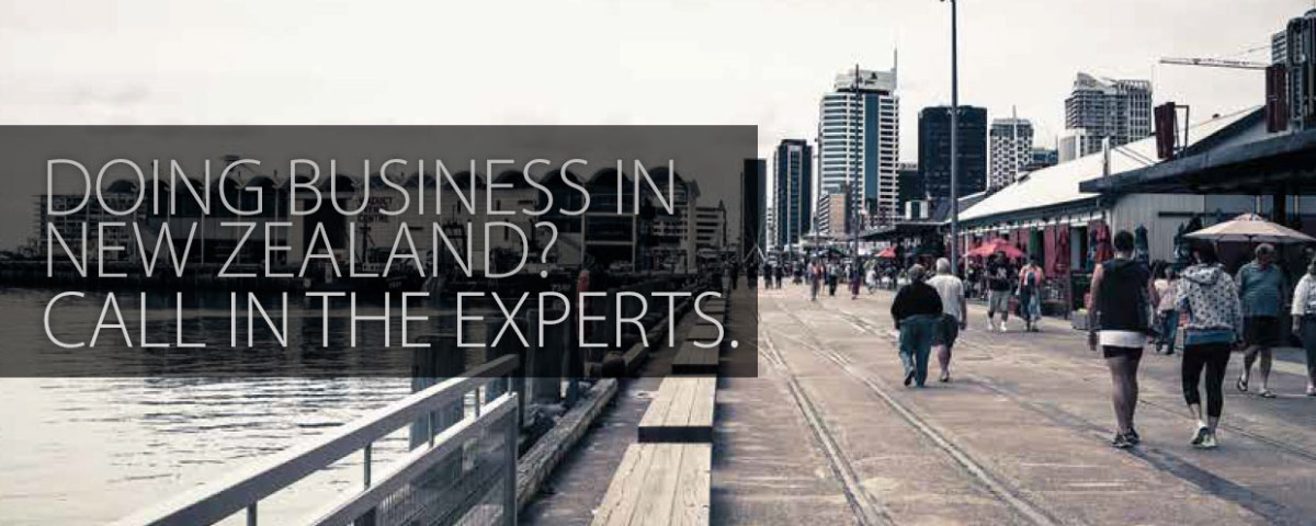 Doing Business in NZ? Call the experts