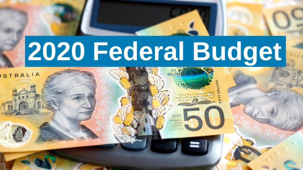 Federal Budget Australian Dollars