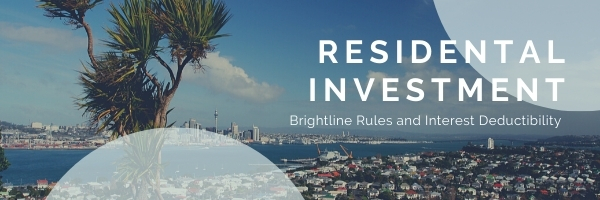 NZ Brightline Rules and Interest Deductibility